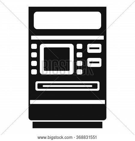 Cash Atm Receipt Icon. Simple Illustration Of Cash Atm Receipt Vector Icon For Web Design Isolated O