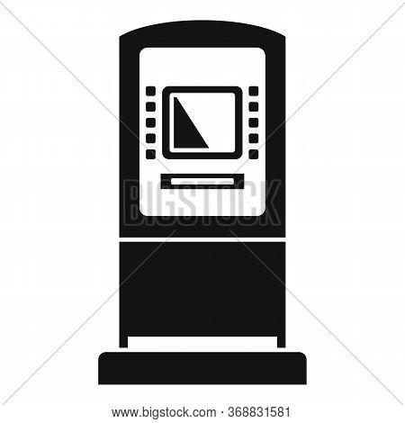 Atm Money Transfer Icon. Simple Illustration Of Atm Money Transfer Vector Icon For Web Design Isolat