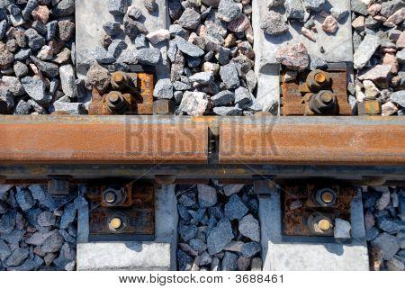 Joint A Railway Rail