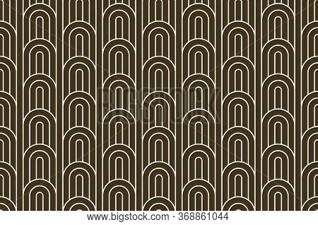 Stripy Vector Seamless Pattern With Woven Lines, Geometric Abstract Background, Stripy Net, Optical