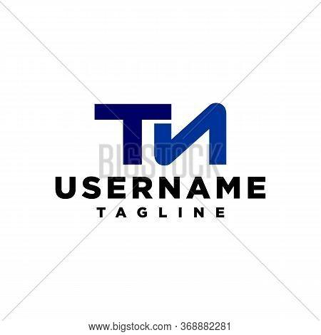 Initial Letter Tn Logo Template Design Vector Modern