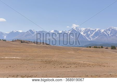 View Of Belukha Mountain. Russia. Belukha Mountain Is Part Of The World Heritage Site Entitled Golde