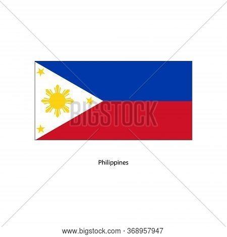 Vector Philippines Flag, Philippines Flag Illustration, Philippines Flag Picture, Philippines Flag I