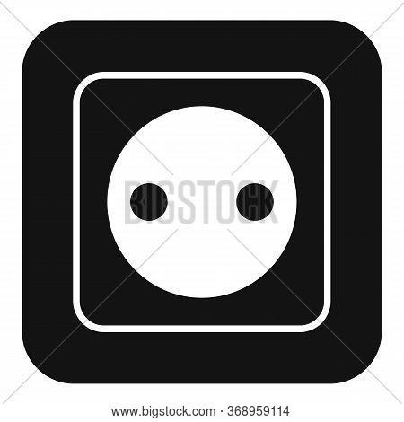 Belgium Power Socket Icon. Simple Illustration Of Belgium Power Socket Vector Icon For Web Design Is