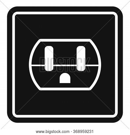 Device Power Socket Icon. Simple Illustration Of Device Power Socket Vector Icon For Web Design Isol
