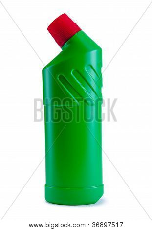 Detergent Green Bottle
