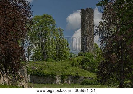 Neuberg Ruin Of Castle In Podhradi Village In West Bohemia