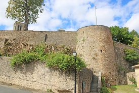 Parthenay Tower And Castle And City Walls, France