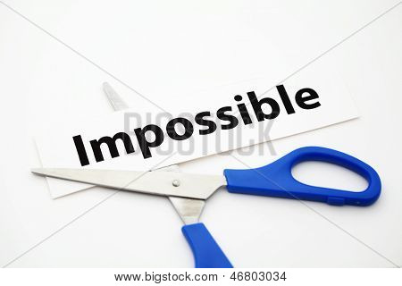 Impossible cut to possible