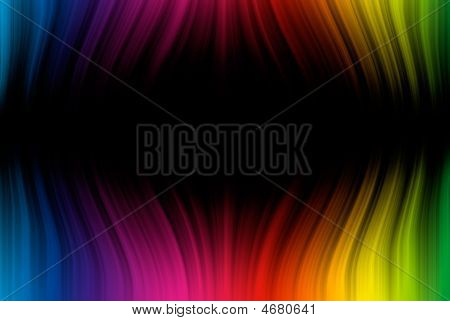 Abstract Background From Spectrum Lines With Copy Space