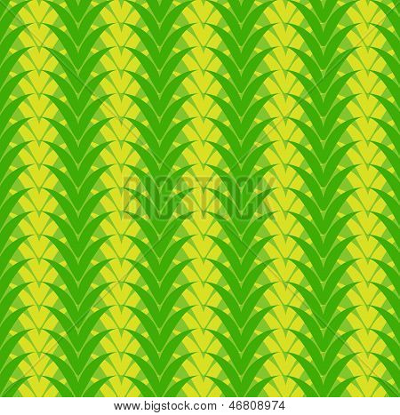Seamless vegetable green pattern.