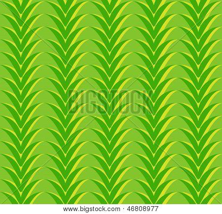Zigzags green pattern.