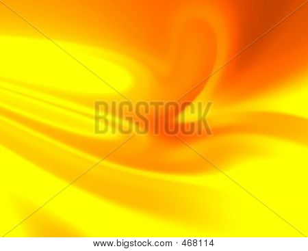 Abstraction Textile. Yellow Color