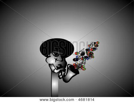 Afro Jazz Player