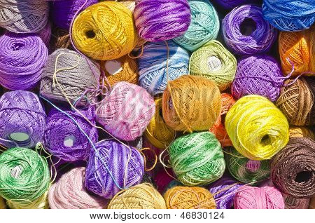 Cotton Thread Balls