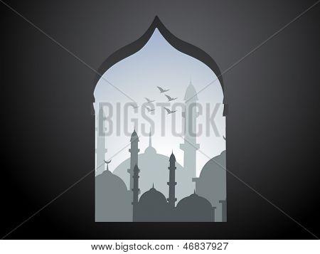 vector ramadan kareem design illustration