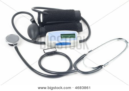 Stethoscope & Blood-pressure Device