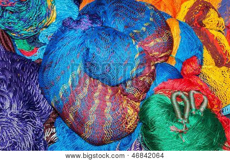 Colorful Hammocks