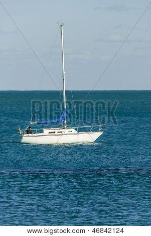 Sailboat On Lake Michigan