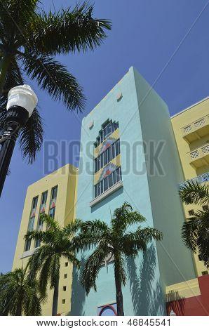 Newly Built Commercial Buildings ala Art Deco