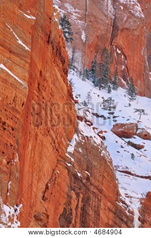Winter, Kolob Canyons