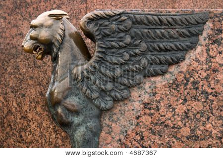 Sculpture Of Griffin