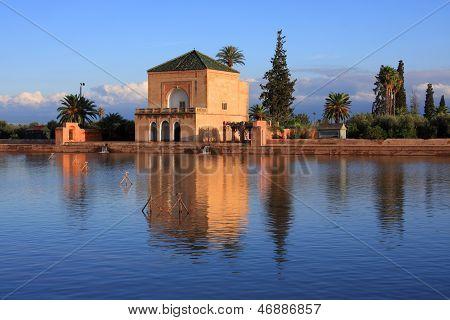 Morocco Marrakesh Menara Pavilion