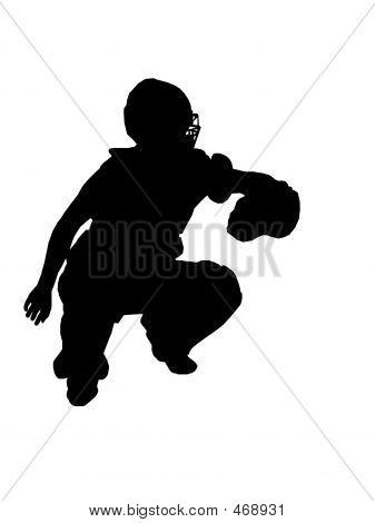 Catcher Silhouette