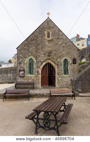 St Julians Church Tenby Pembrokeshire West Wales.