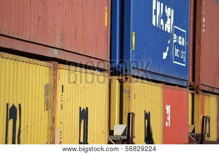 Shipping containers - frame #2