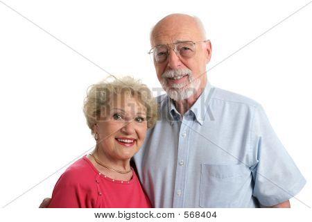 Senior Couple Together Horizontal