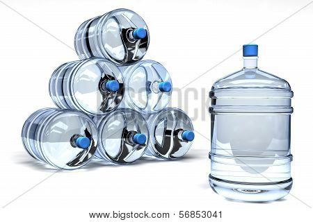 Barrel Mineral water