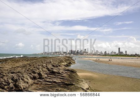 Beach Of Natal, Rio Grande Do Norte (brazil)