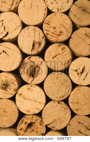 Corks On End