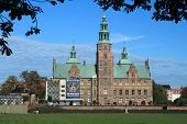 Rosenborg castle (Rosenborg Slot) is a renaissance castle located in Copenhagen, Denmark. Of special interest to tourists is an exhibition of the Danish Crown Jewels located in the castle. poster
