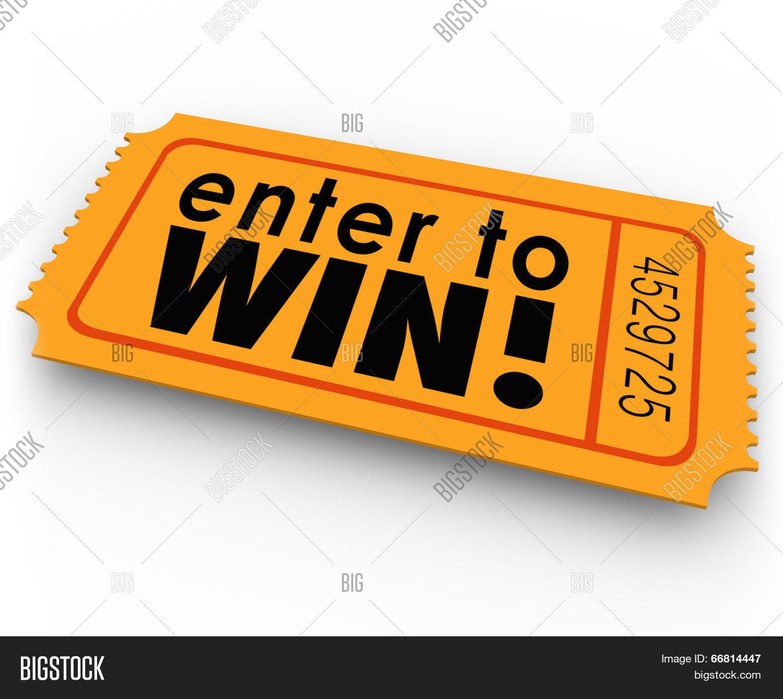 Enter Win Words Orange Image & Photo (Free Trial) | Bigstock