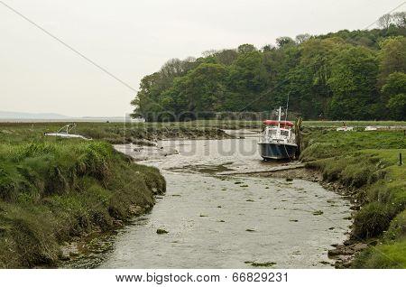 River Taf estuary, Carmarthenshire