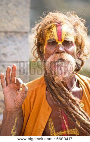 Holy Man Kathmandu