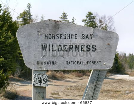 Sign In The Wilderness
