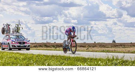 The Cyclist Michele Scarponi