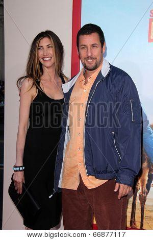 LOS ANGELES - MAY 21:  Jackie Sandler, Adam Sandler at the