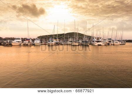 Harbor Landscape
