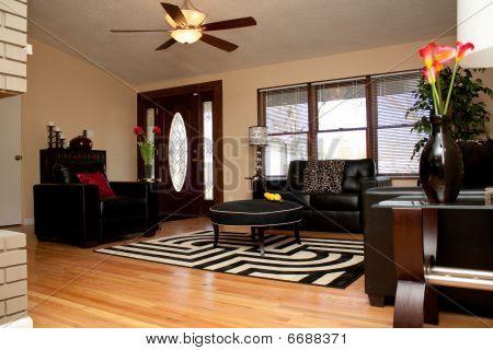 A Warm Family Room