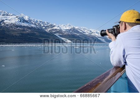 Photographer in Alaska