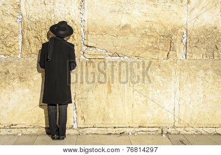Jerusalem, Israel at the Western Wall.