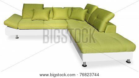 Big Green Sofa