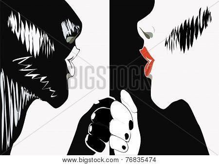 Monochrome Couple