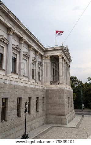 Austrian Parliament.