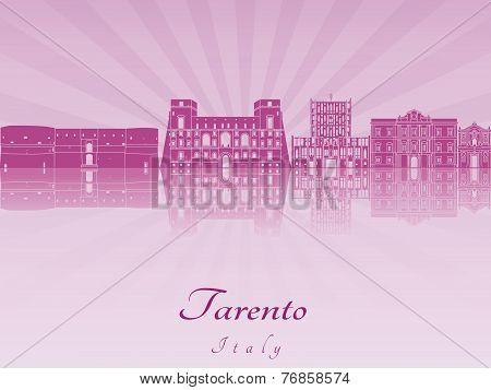 Tarento Skyline In Purple Radiant Orchid