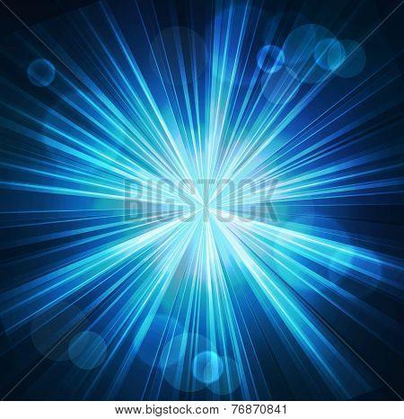 Abstract  starburst light background